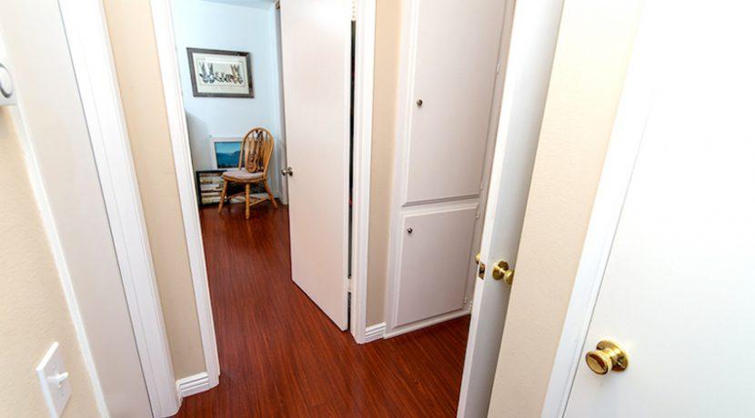Hallway Area with Storage