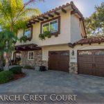 424 Larch Crest Ct., Thousand Oaks, CA 91320 - Front facade of property at sunset