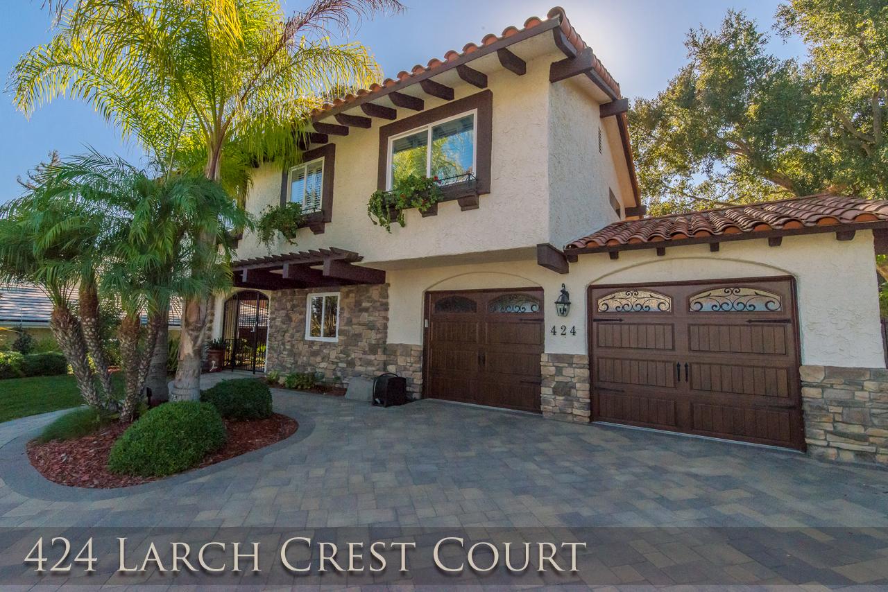 424 Larch Crest Ct., Thousand Oaks – Lynn Oaks Property for Lease